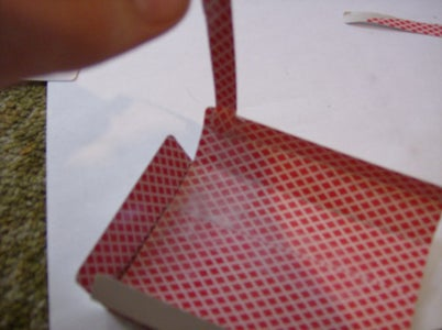 Make a Bridge That Covers That Little Bit of Plastic Above the Screen.