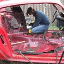 Passenger Side Bracing - Building a Pure Stock Race Car - Part 5