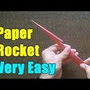 How to Make Paper Rocket