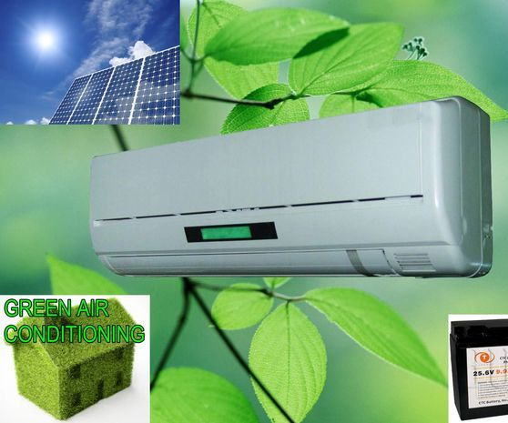 Solar Powered Air Conditioning Unit!
