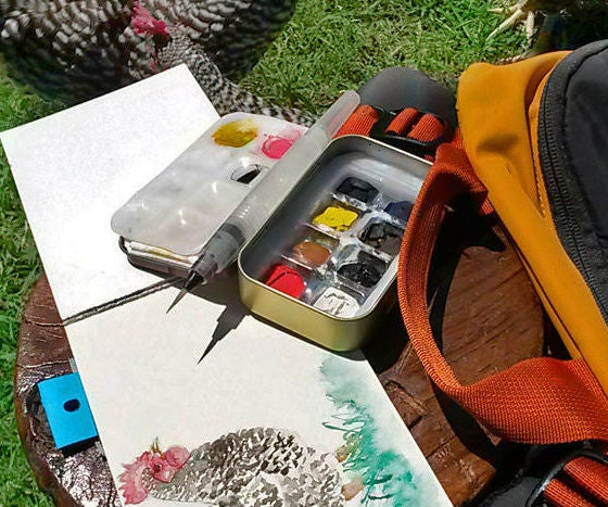 Travel Watercolor Set