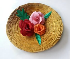 DIY Recycled Paper Bowl