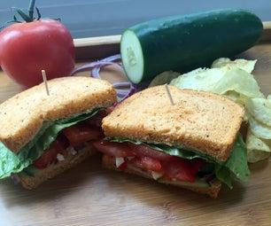 Copycat Panera Mediterranean Veggie Sandwich