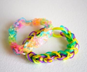 Double Rainbow Loom Bracelet