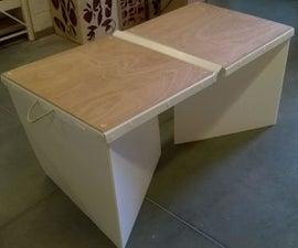 Flat Pack Mini Ping Pong Table