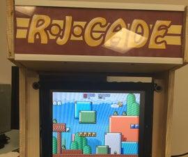 Mini Wooden Arcade Machine Cabinets