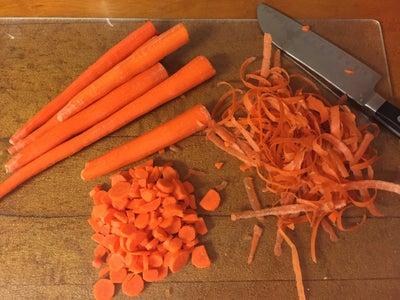 Preparing the Veggies