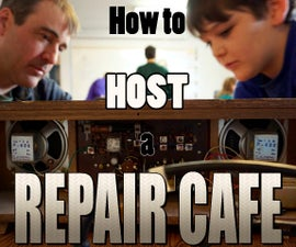 Host a Repair Cafe