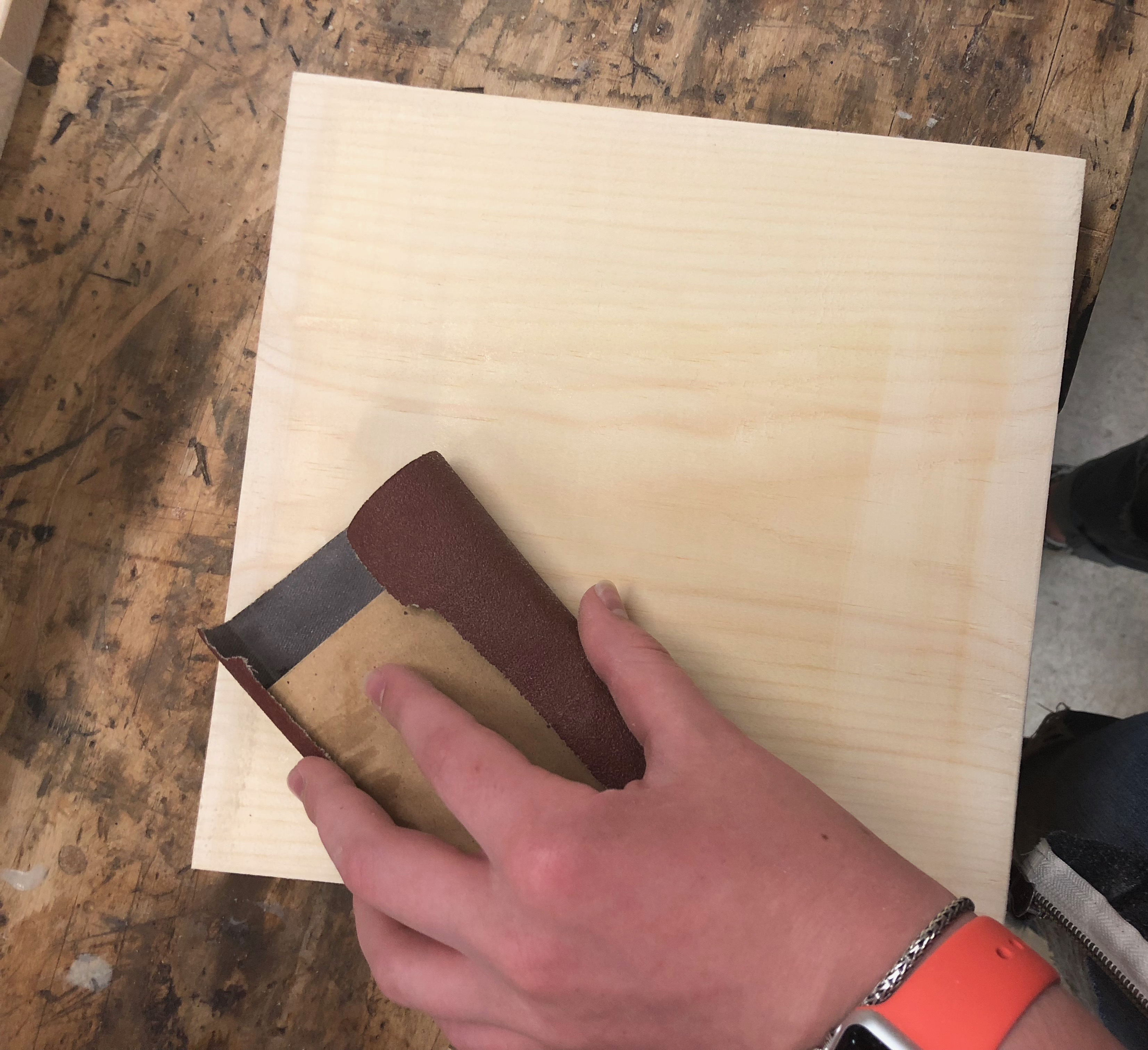 Picture of Prep Your Wood.
