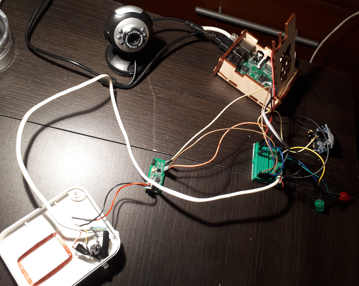 Picture of Home Security With Raspberry Pi