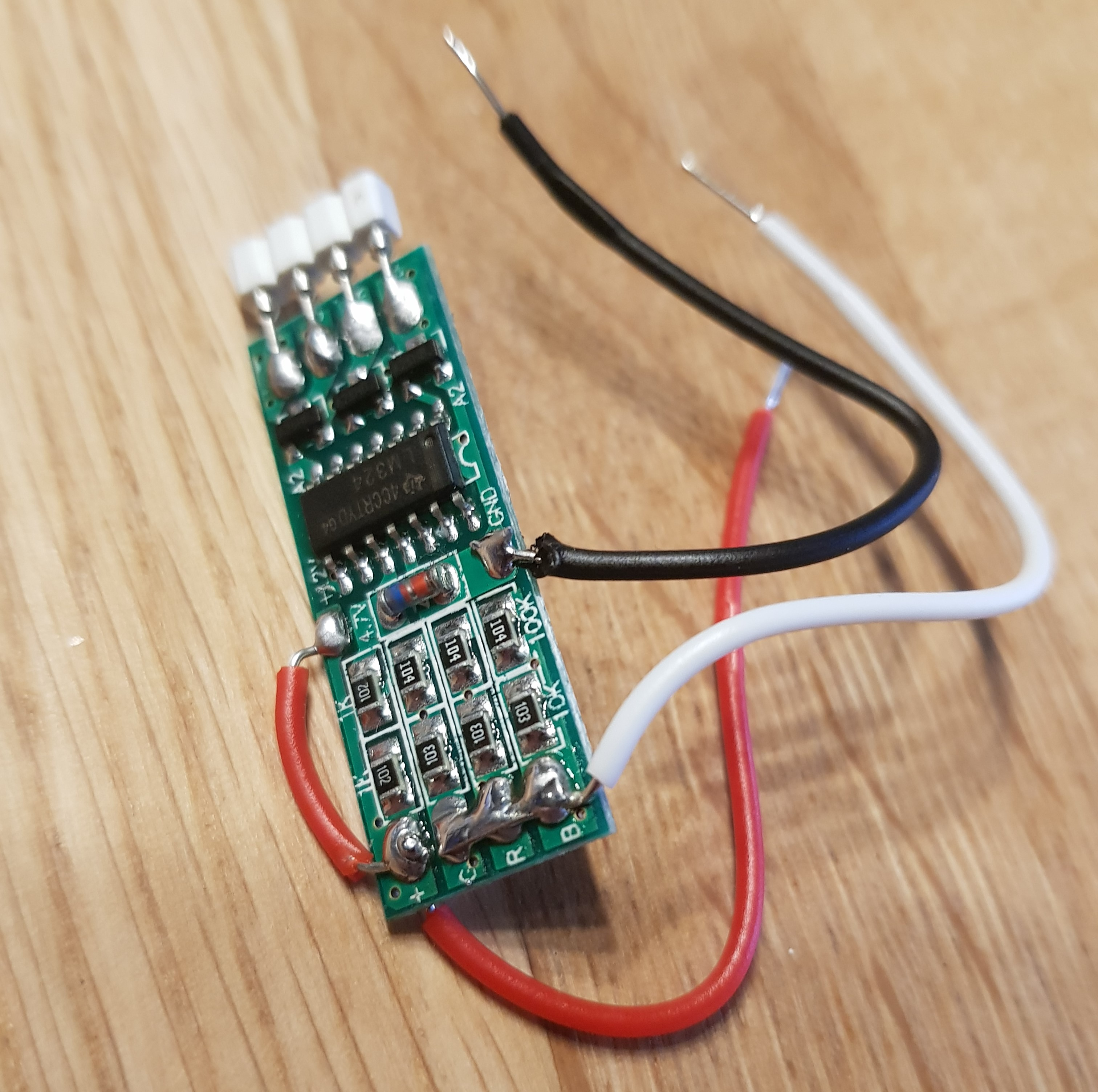 Picture of The LED Amplifier