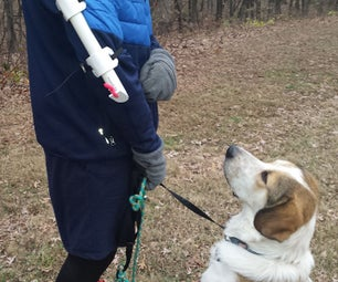 Cold-weather Canine Treat Dispenser