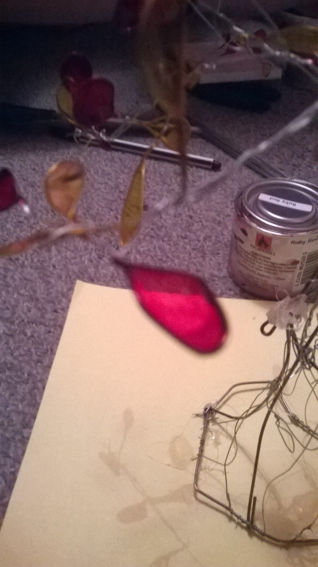 Picture of Adding the Leaves