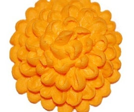 How to Make a Sugar Flower Chrysanthemum (Mum) for your Cupcakes and Cakes