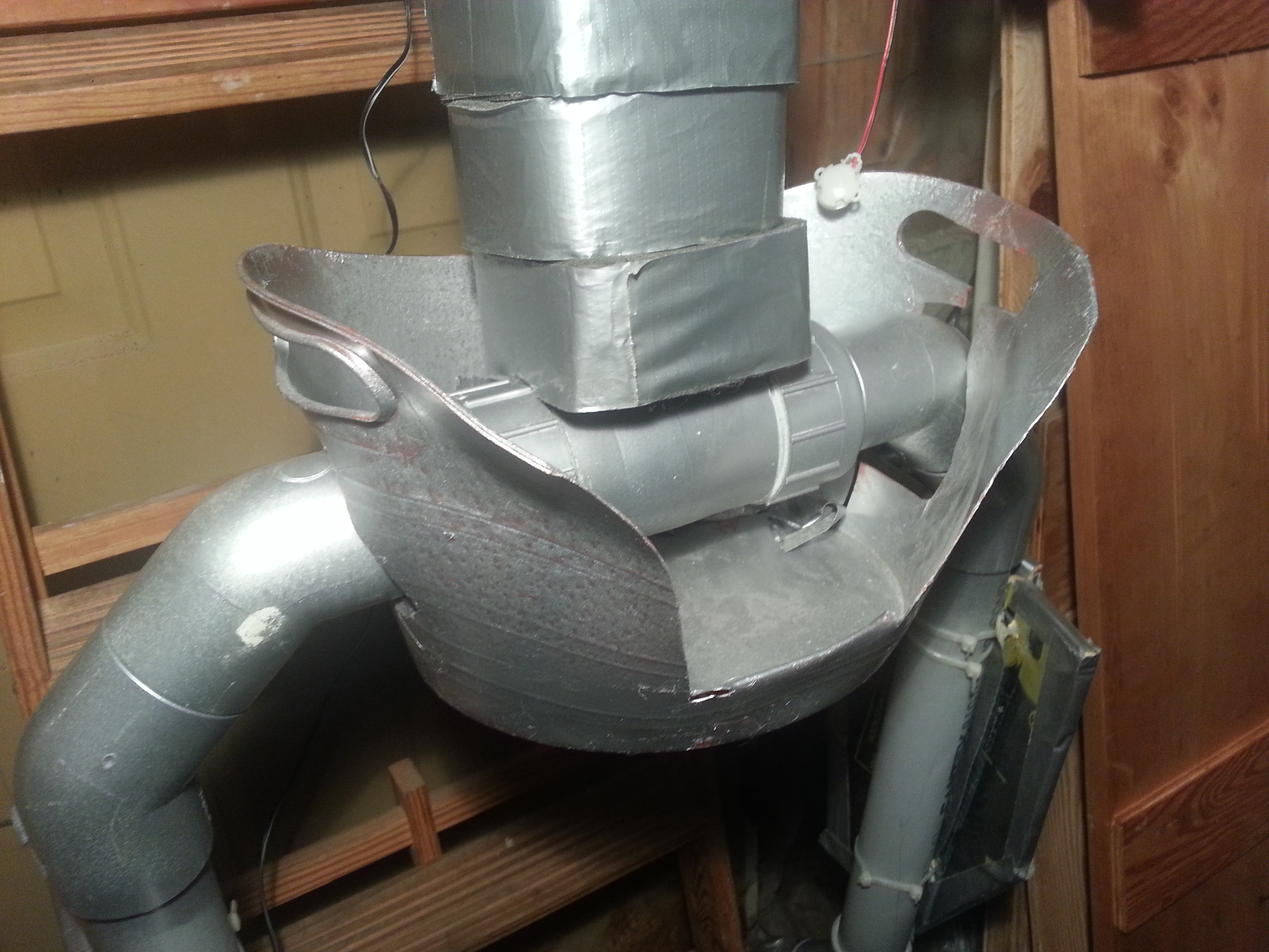 Picture of Building the Torso Structure With Rotating, Lockable Shoulders and Hips