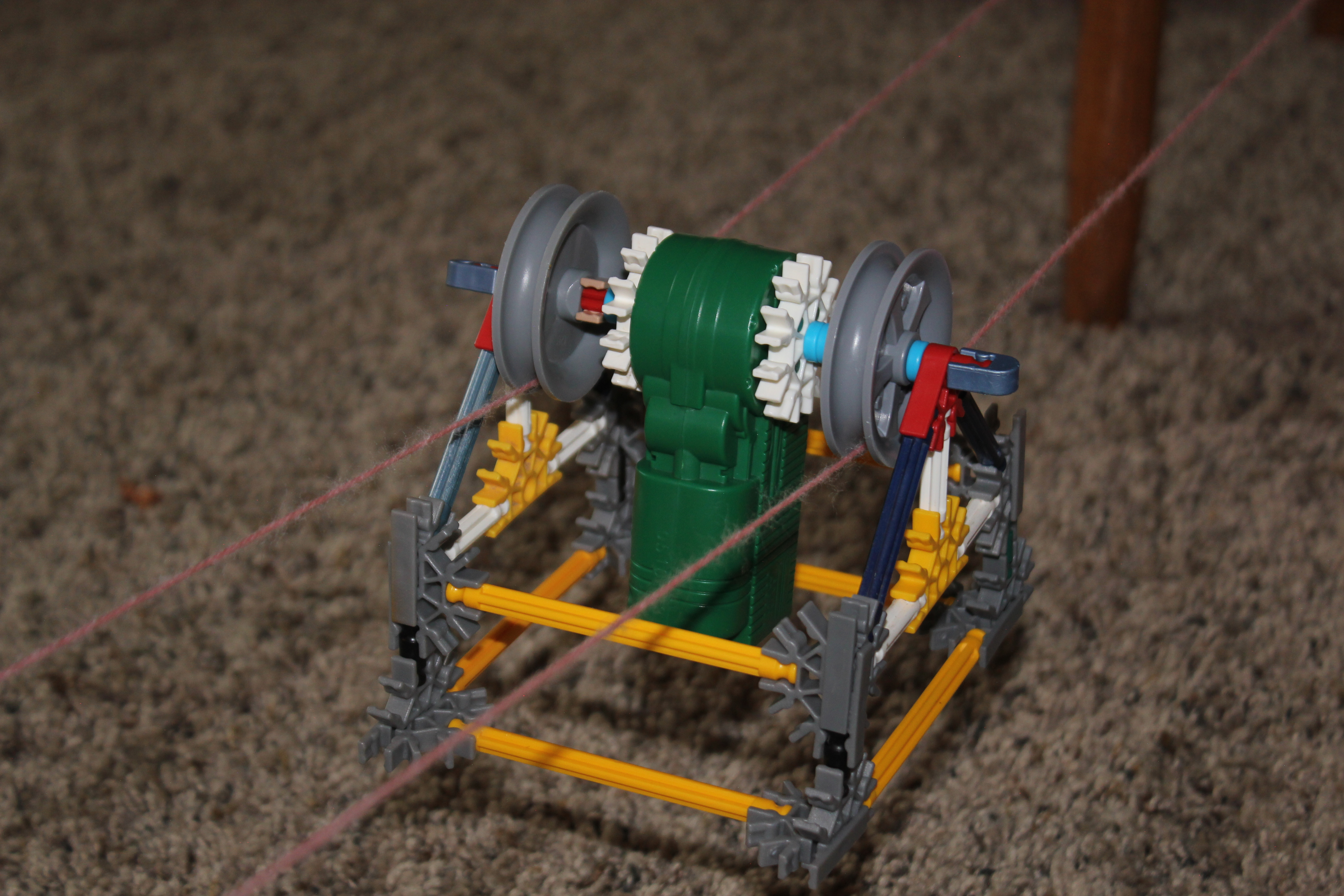 Picture of K'Nex Cable Car