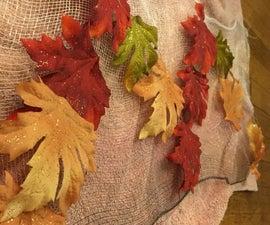 Autumn themed door mat/rug