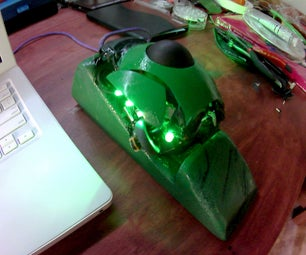 Ultimate GREEN DIY Trackball Mouse From Junk