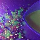 DIY Black Light and Fluorescent Balls