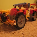 """Knex Remote control 4WD """"Off Roadster"""""""