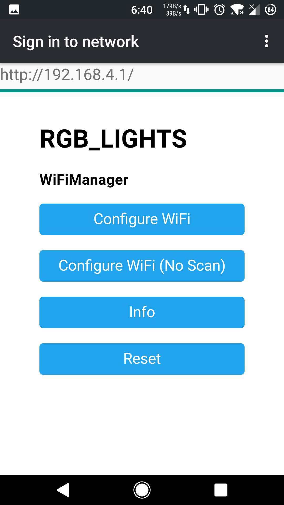 Picture of Connect to WiFi