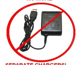 Make a Gameboy Advance SP USB Charger Cable: Charge your GBA from a PC or Cellphone Charger