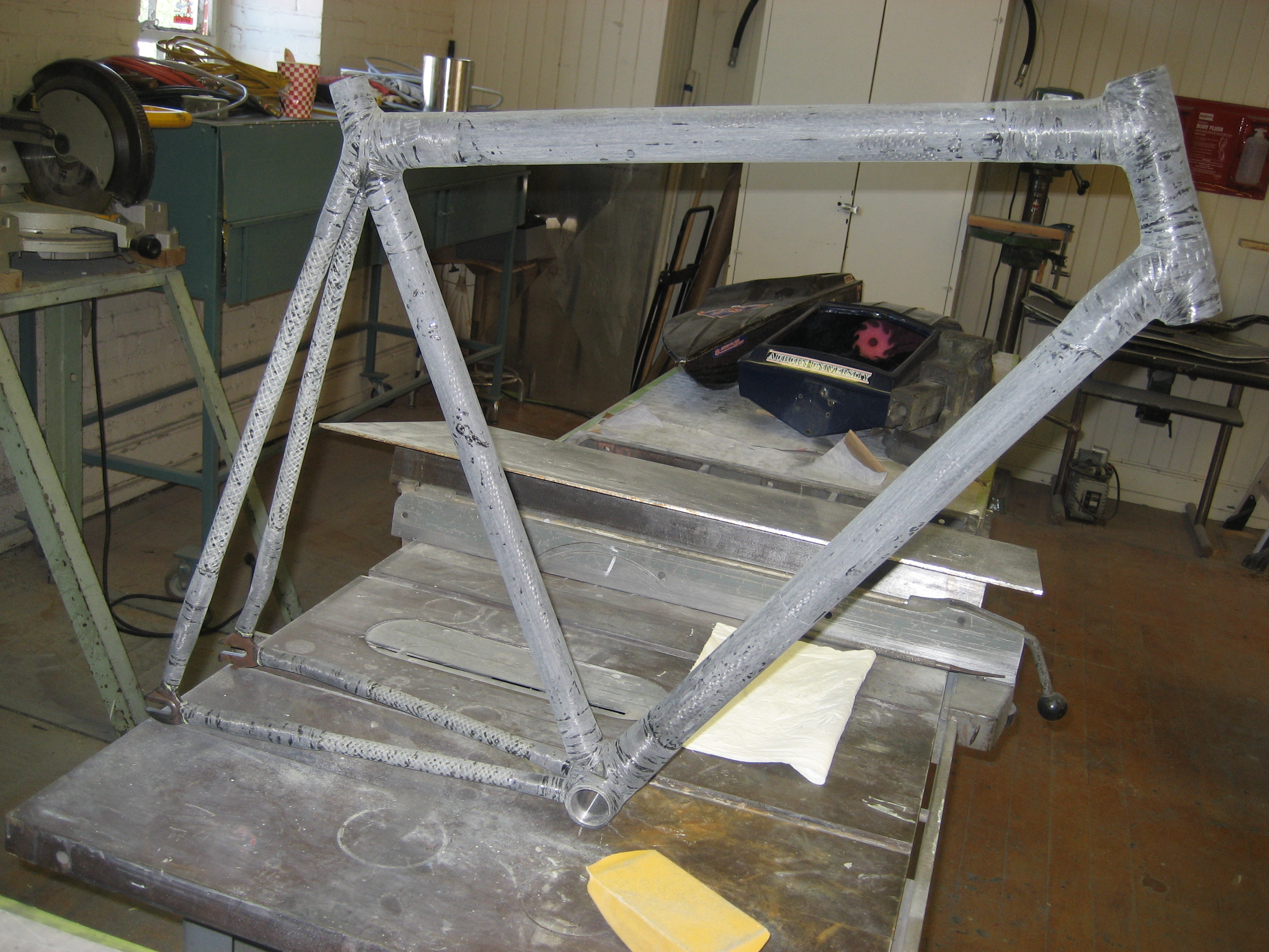 Picture of Finishing the Frame