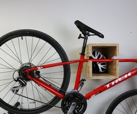 How to Make a Shelf/Bike Rack