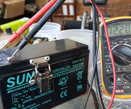 12v 3s lithium ion battery using a 7ah lead acid battery.