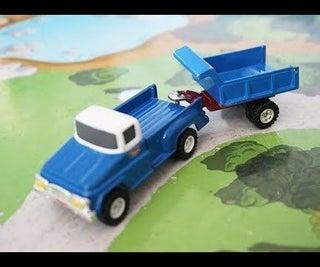 Toy Truck Aftermarket Trailer & Hitch