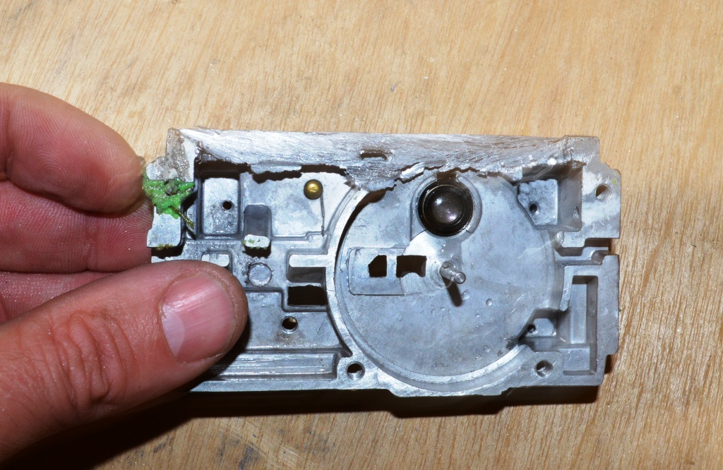 Picture of Making the Hole for the MP3/5 Player - Step 3.