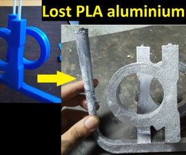 Casting Aluminium With Lost PLA Investment Mold