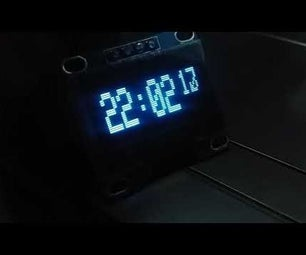 Digital Clock With Arduino Uno,OLED Display and RTC Module