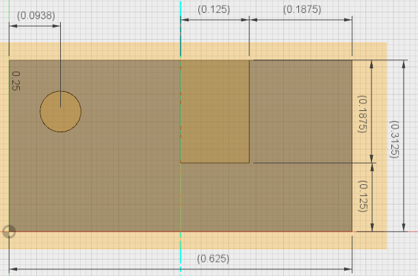 Picture of Using Fusion 360 to Calculate Measurements.