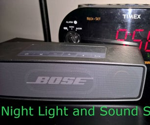 Night Light and Sound Soother