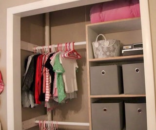 How to Make a Built-in Closet Organizer