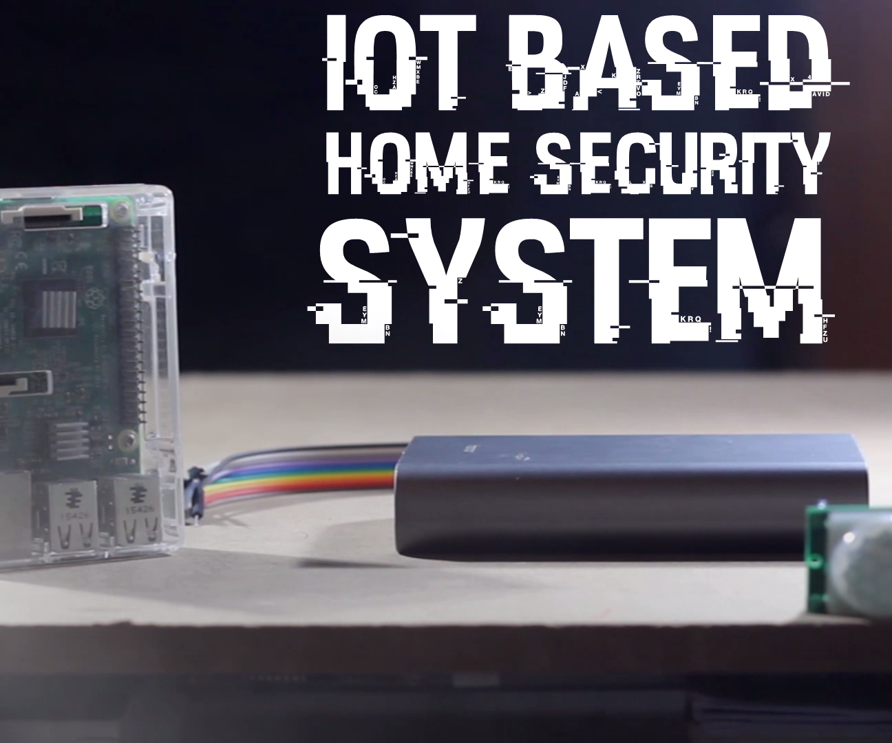 Iot Based Home Security System Raspberry Cayenne Pir Sensor And Gsm Using 8051 4 Steps With Pictures