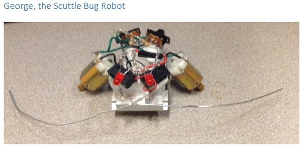 George the Scuttle Bug (A Junk Robot)