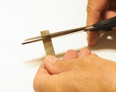 Apply the Conductive Foil Tape