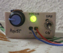 LM317 Small Power Supply