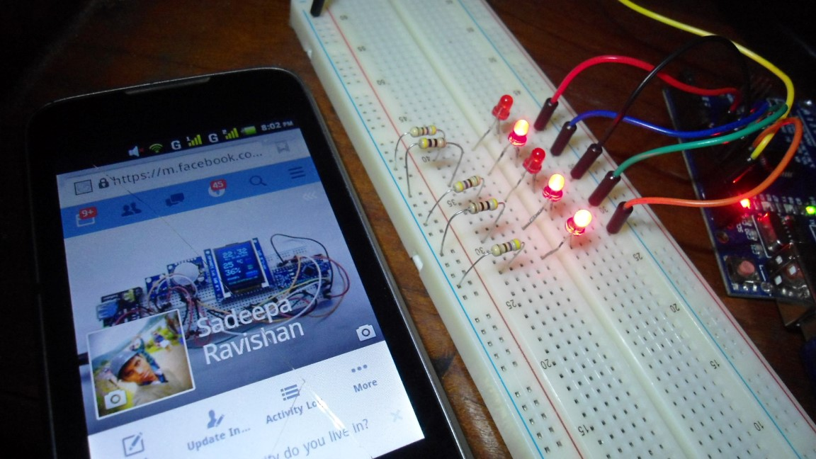 Picture of Control Arduino With Facebook - the Easy Way