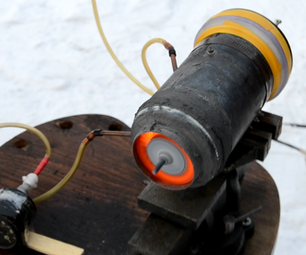 Homemade Tin Can Turbine With 3d-printed Compressor