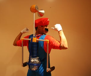 Mario Sunshine Functional FLUDD Water Gun