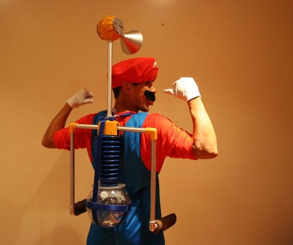 Mario Sunshine Functional FLUDD Water Gun