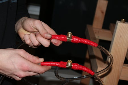 Attaching the Tubing