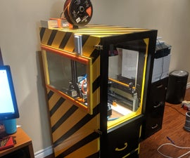 Filing Cabinet 3d Printer Enclosure