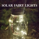 Mason Jar Solar LED Fairy Lights