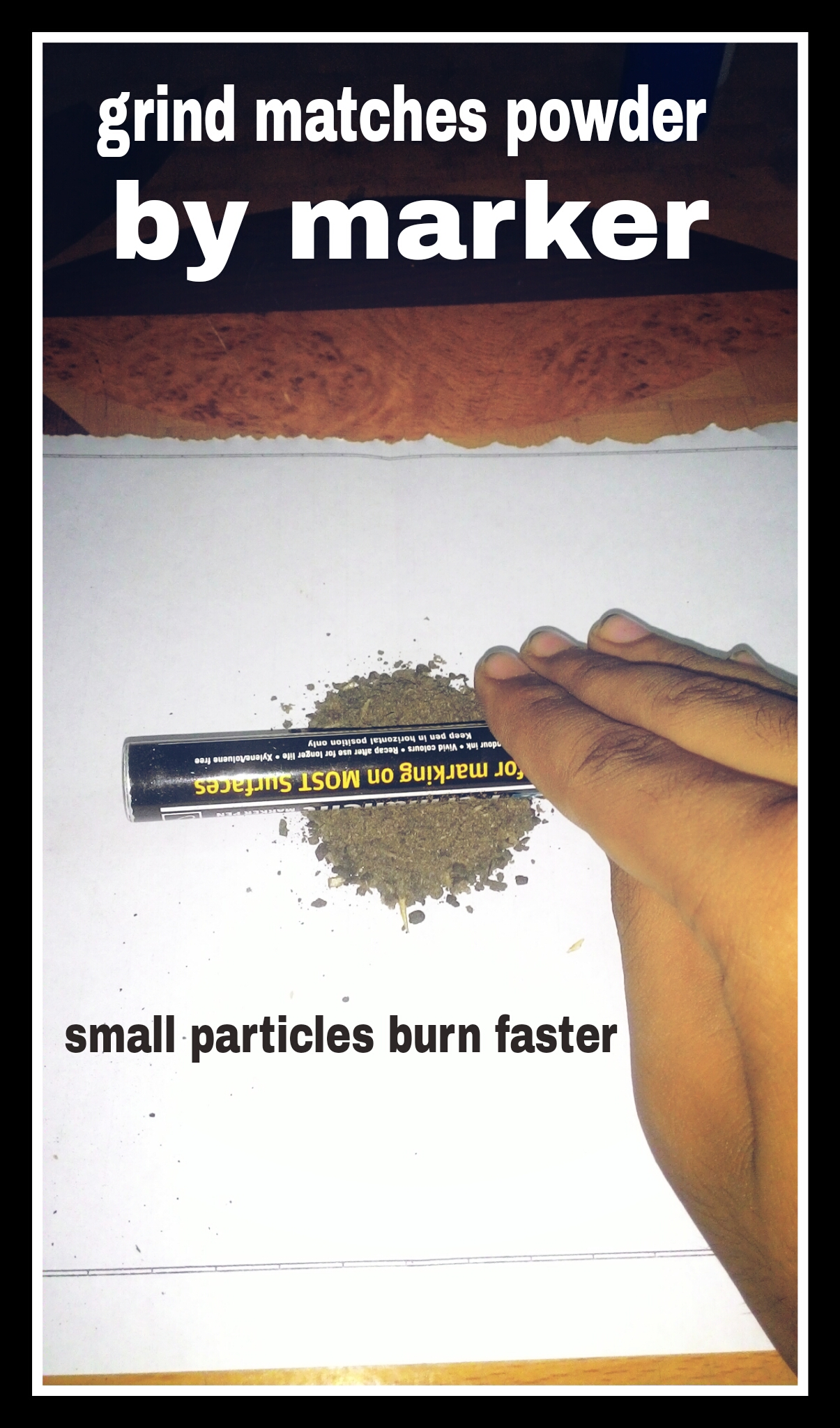 Picture of Gun Powder or Fuel.