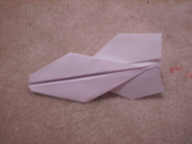 Picture of Boomerang Paper Airplane