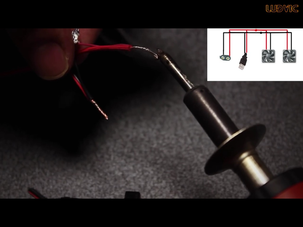 Picture of Solder the Wire